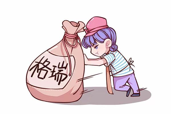 淘矿卡通形象展示——步骤1运输矿石