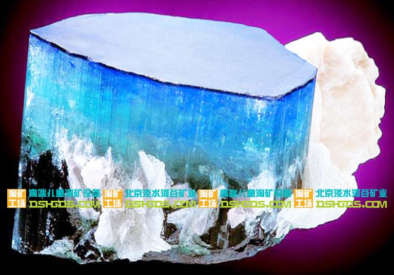 儿童淘矿加盟工场科普栏之靛蓝岩的基础详细介绍和各种特
